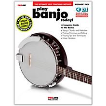 Proline Proline Play Banjo Today Beginner's Pack Book/Audio & Video Online