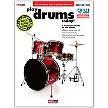Proline Proline Play Drums Today Beginner's Pack Book/Audio & Video Online
