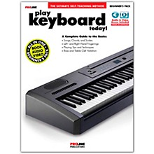 Proline Proline Play Keyboard Today Beginner's Pack Book/Audio & Video Online
