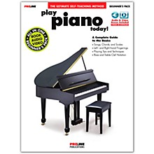 Proline Proline Play Piano Today Beginner's Pack Book/Audio & Video Online