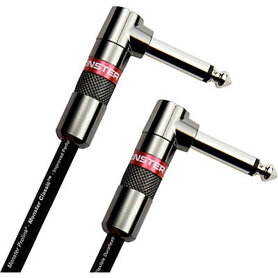 Monster Cable Prolink Classic Instrument Cable Right Angle to Right Angle
