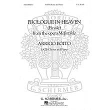 G. Schirmer Prologue in Heaven (Finale from Mefistofele) composed by Arrigo Boito