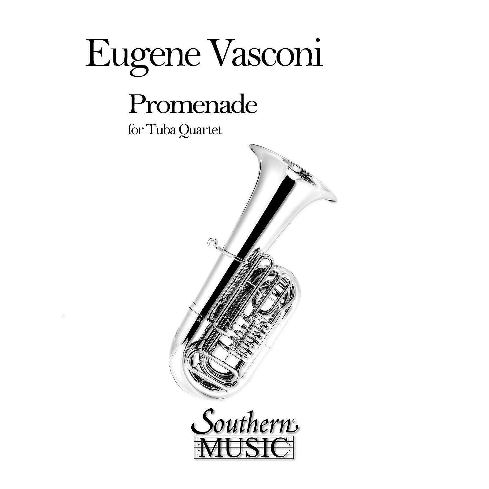 Southern Promenade (2 Euphoniums/2 Tubas) Southern Music Series by Eugene Vasconi