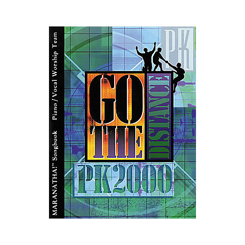 Maranatha! Music PromiseKeepers 2000: Go the Distance Book