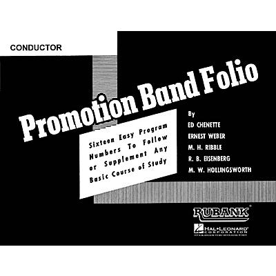 Rubank Publications Promotion Band Folio (2nd Alto Saxophone) Concert Band Level 2-3 Composed by Various