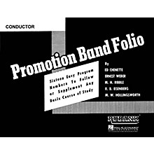 Rubank Publications Promotion Band Folio (Baritone Saxophone) Concert Band Level 2-3 Composed by Various