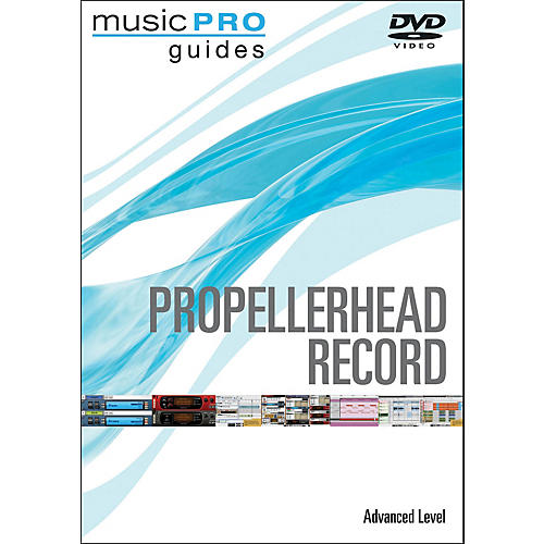 Hal Leonard Propellerhead Record Advanced Music Pro Guide Dvd