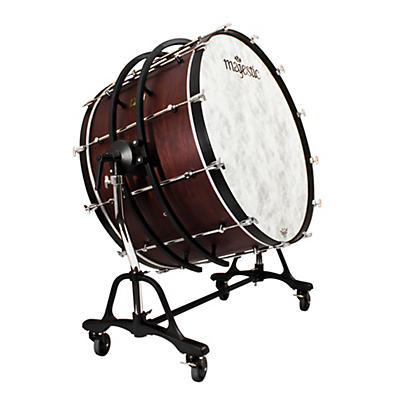 Majestic Prophonic Bass Drum with SSB Suspended Concert Tilting Stand
