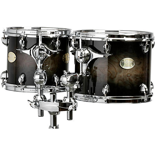 Majestic Prophonic Series Double-Headed Concert Tom Condition 1 - Mint 6 x 8 in. Black Dawn