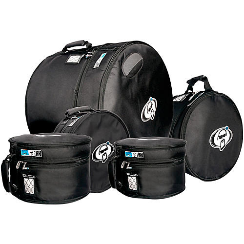 Protection Racket Protection Racket Drum Gig Bag Sets 10x9, 12x10, 14x10, 14x5.5, 22x18 in. Black