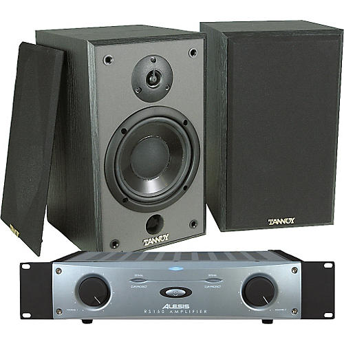 Tannoy Proto-J Plus Monitors/Alesis RS150 Power Amp Package