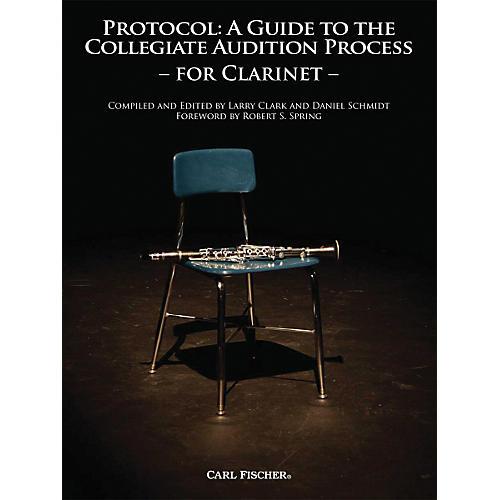 Carl Fischer Protocol: Clarinet Book