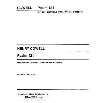 Associated Psalm 121 Unac Archive Edition SATB composed by H Cowell