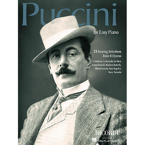 Ricordi Puccini for Easy Piano (25 Soaring Selections from 8 Operas) Misc Series