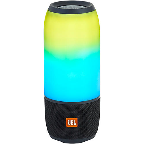 JBL Pulse 3 Portable Speaker with Bluetooth, Built-in Battery, Mic and Built-in Light Show Black