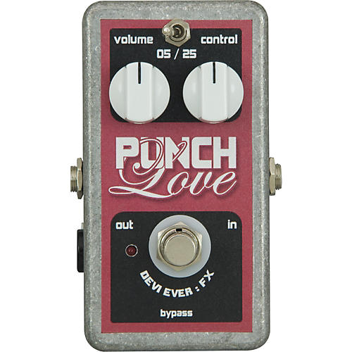 Devi Ever Punch Love Boost Guitar Effects Pedal