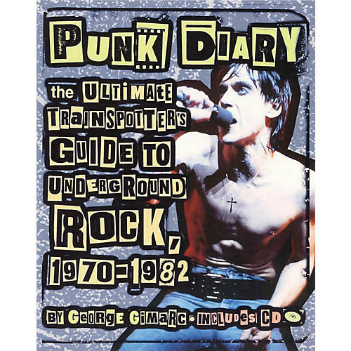 Backbeat Books Punk Diary Book Series Softcover with CD Written by George Gimarc
