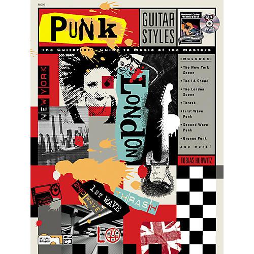 Alfred Punk Guitar Styles (Book/CD)