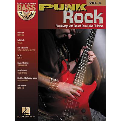 Hal Leonard Punk Rock: Bass Play-Along Series, Volume 8 (Book/CD)