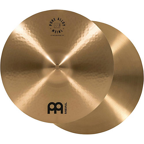 Meinl Pure Alloy Traditional Medium Hi-Hat Cymbal Pair