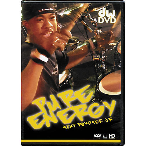 The Drum Channel Pure Energy: Tony Royster Jr. DVD