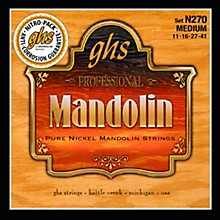 GHS Pure Nickel Mandolin Medium Strings