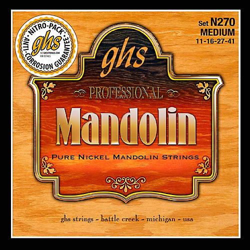GHS Pure Nickel Mandolin Medium Strings