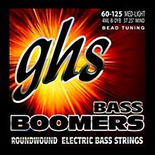 GHS Pure Nickel Roundwound Bass Strings BEAD Tuning Med-Light 60-125