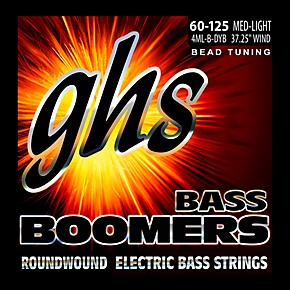 ghs pure nickel roundwound bass strings bead tuning med light 60 125 musician 39 s friend. Black Bedroom Furniture Sets. Home Design Ideas