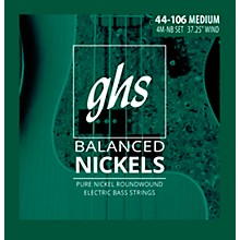 GHS Pure Nickel Roundwound Bass Strings Med. 44-106