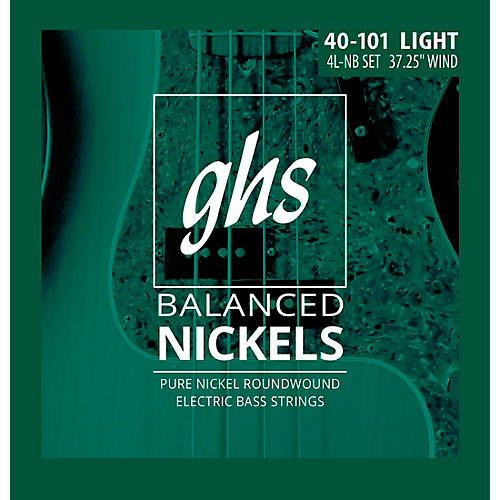 GHS Pure Nickel Roundwound Light 40-101
