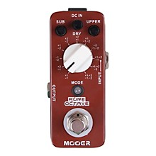 Open BoxMooer Pure Octave Guitar Effects Pedal