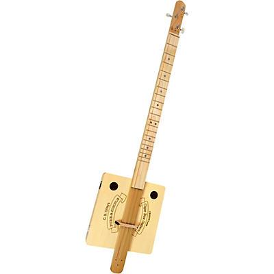 "C.B. Gitty ""Pure & Simple"" Fretted 3-String Cigar Box Guitar Kit"