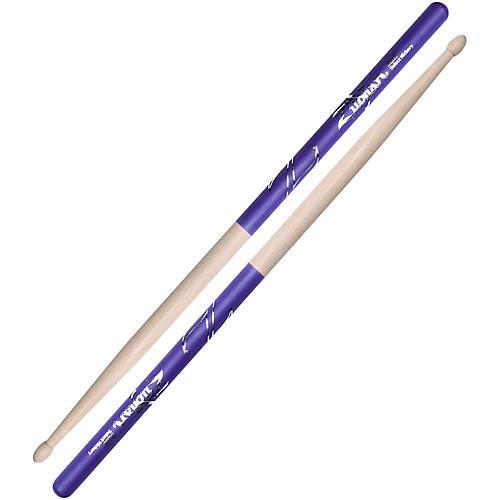 Zildjian Purple DIP Drum Sticks 5B Wood