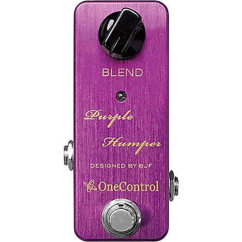One Control Purple Humper Mid Boost Effects Pedal