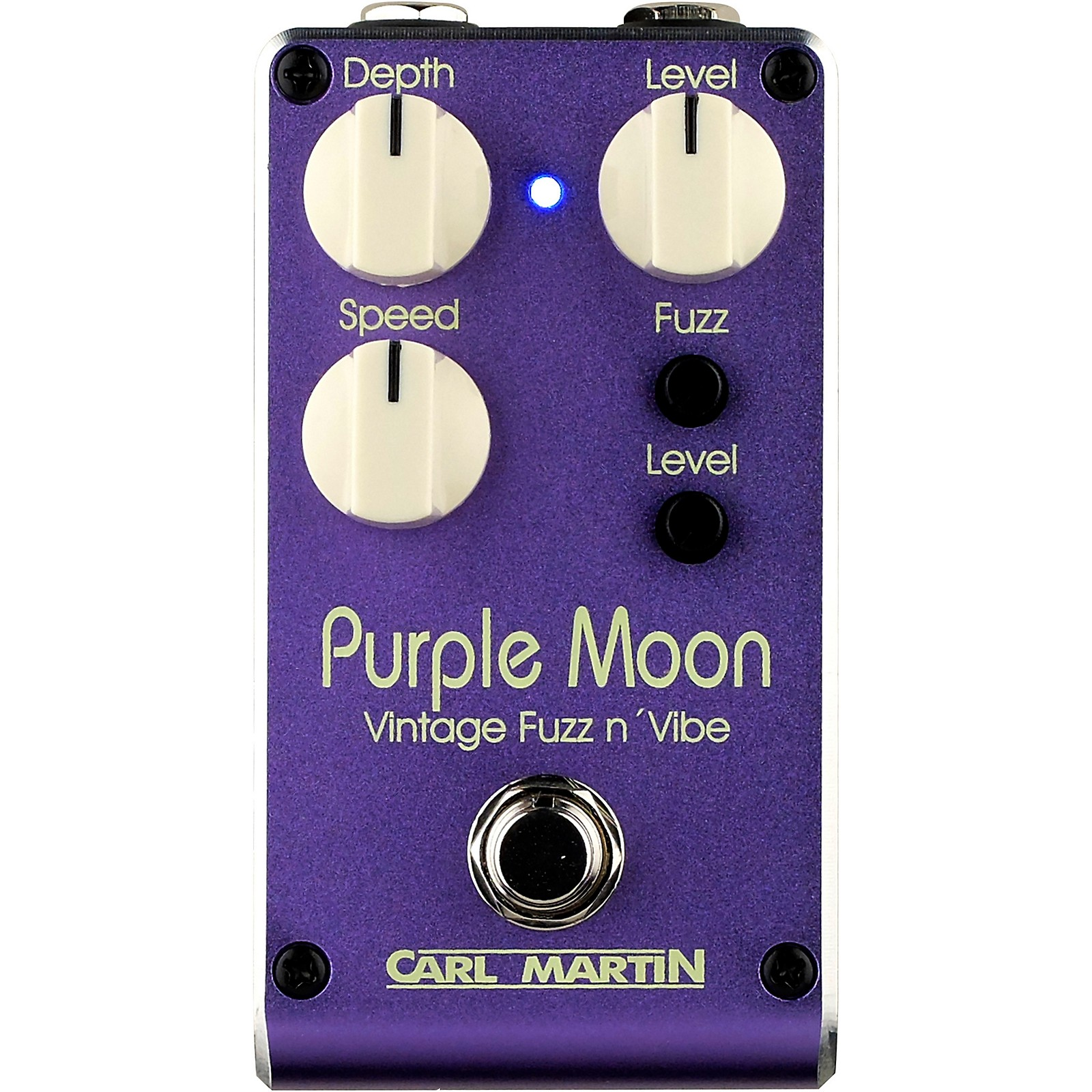 Carl Martin Purple Moon V2 Vintage Fuzz and Vibe Effects Pedal