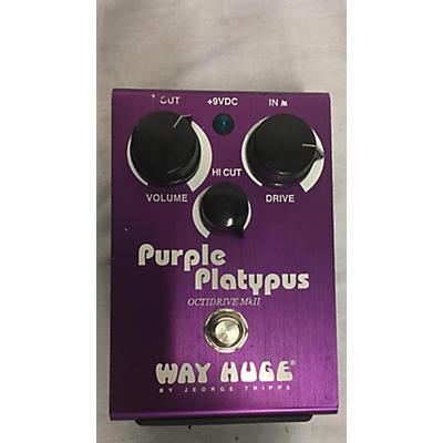 Way Huge Electronics Purple Platypus Effect Pedal
