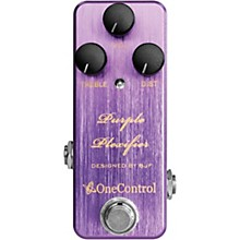 Open Box One Control Purple Plexifier Distortion Effects Pedal