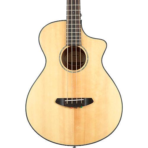 Breedlove Pursuit Concert Acoustic-Electric Bass Guitar Natural