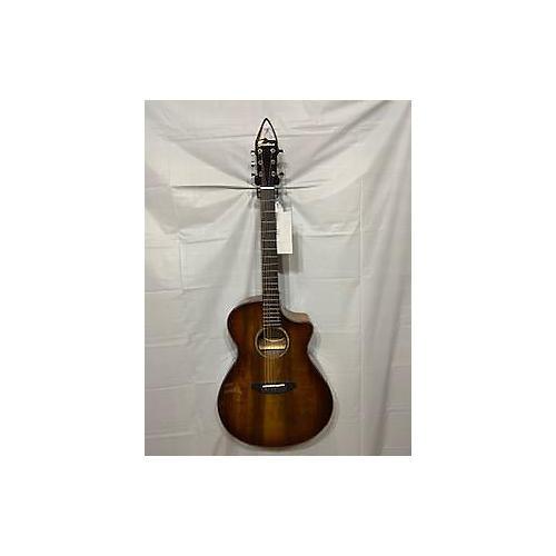 Breedlove Pursuit Concert Acoustic Electric Guitar Natural