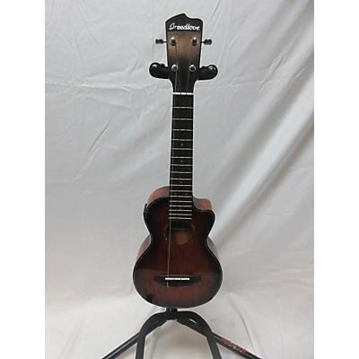 Breedlove Pursuit Concert Acoustic Electric Ukulele