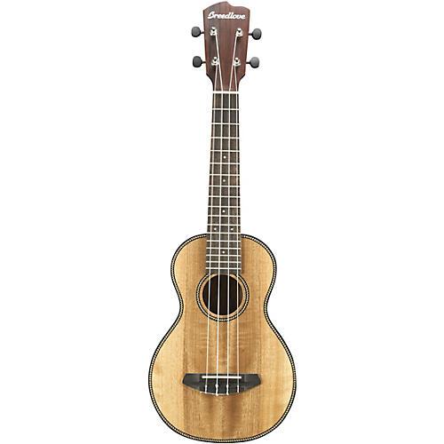 Breedlove Pursuit Concert Acoustic Ukulele Satin Natural