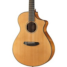 Open Box Breedlove Pursuit Concert All-Gloss Red Cedar-Ovangkol Acoustic-Electric Guitar With Gig Bag