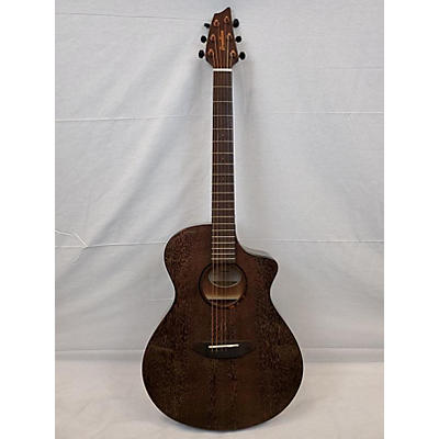 Breedlove Pursuit Concert Mahogany Chocolate Box Acoustic Electric Guitar