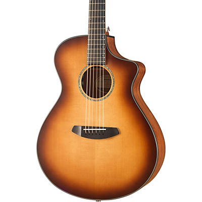 Breedlove Pursuit Concert Sitka-Mahogany Acoustic-Electric Guitar With Gig Bag