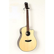 Open Box Breedlove Pursuit Dreadnought Ebony Acoustic-Electric Guitar