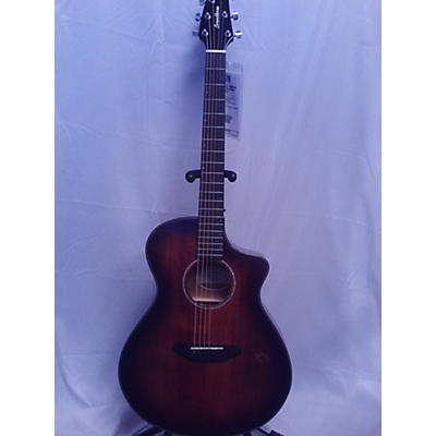 Breedlove Pursuit Ex Concert Ce Mm Acoustic Electric Guitar