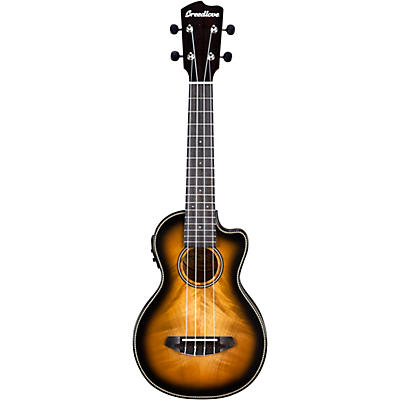 Breedlove Pursuit Exotic CE Myrtlewood Concert Acoustic-Electric Ukulele