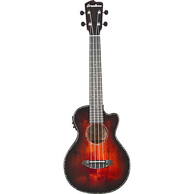 Breedlove Pursuit Exotic CE Myrtlewood Tenor Acoustic-Electric Ukulele (Mettalic)