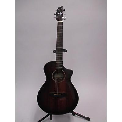Breedlove Pursuit Exotic Companion Myrtlewood Acoustic Electric Guitar